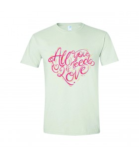 "Tricou Pentru Barbati ""All You Need Is Love"""