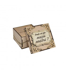 Wooden Gift Box For the Best Man