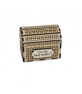Small Wooden Chest For the Best Man