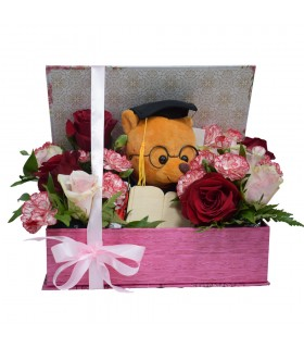 Graduation Box cu Ursulet Plus