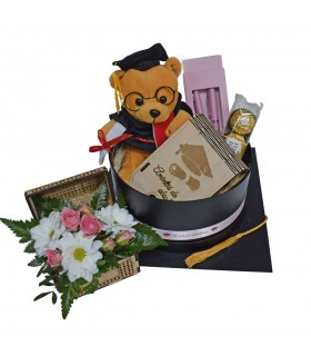 Graduation Gift Package with Hat - Girl