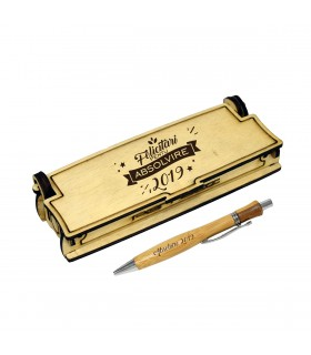 Wooden Pen in Graduation Gift Box