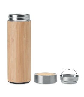 Bamboo Thermos with Filter