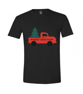 Tricou Merry Christmas - Car