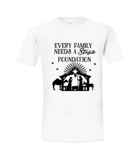 "Tricou de Craciun ""Every Family Needs..."""