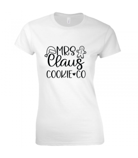 Tricou Mrs. Claus Cookie & Co