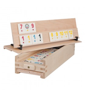 Rummy Game in Wooden Box