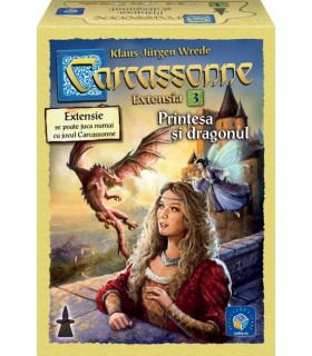 Carcassonne Extension 3: The Princess and the Dragon