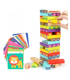Animal Tower 4 in 1 Game