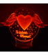 """""""I love you, Mom!"""" 3D Lamp"""