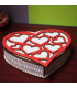 Heart-shaped Wooden Gift Box