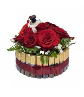 Sweet Box with Roses