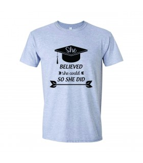 Tricou Absolvire - She Believed