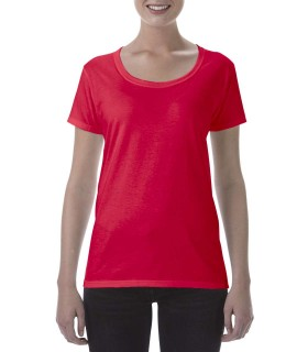 Tricou Femei Gildan Softstyle Deep Scoop