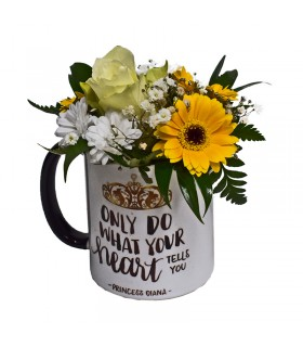 """""""Only Do What Your Heart Tells You"""" Mug"""