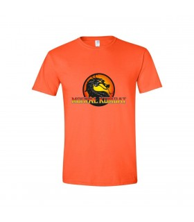 "Tricou Orange Personalizat ""Mortal Kombat"""