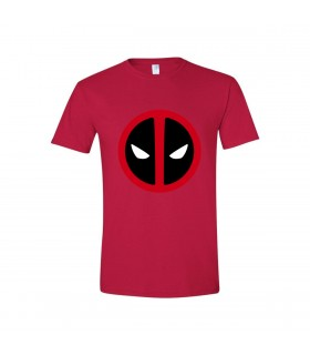 """""""Deadpool"""" Personalized Red T-shirt"""